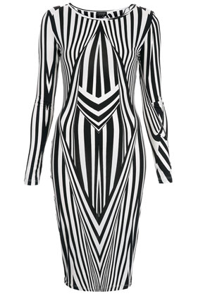 Black-White-Print-Bodycon-Dress-topshop-serena-williams-olsen-hotel-melbourne-australia
