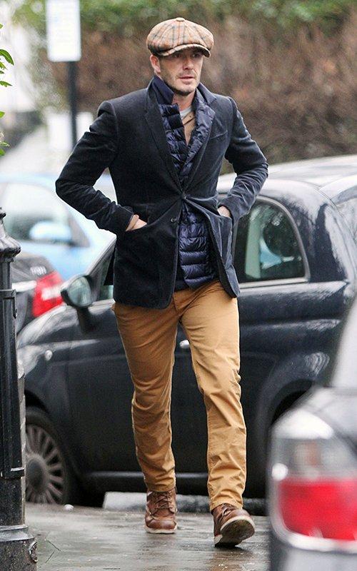 Soccer Star David Beckham S London Casely Hayford X