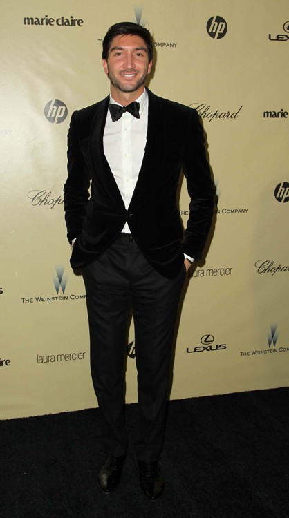 The Weinstein Company's 2013 Golden Globe Awards Party Featuring: Evan Lysacek Where: Beverly Hills, California, United States When: 13 Jan 2013 Credit: FayesVision/WENN.com