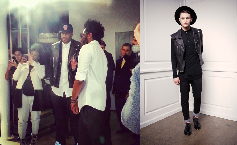 Carmelo-Anthony-FW-2013-fashion-week-public-school-NYC-leather-vest