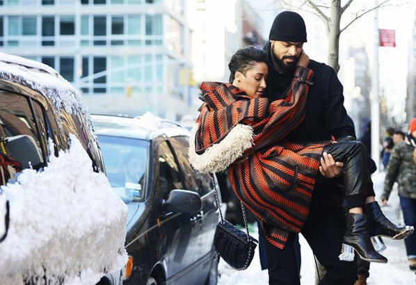 Tyson-Chandler-FW-2013-fashion-week-Givenchy-Hooded-Jersey-Gilet-jak-and-jill-blog