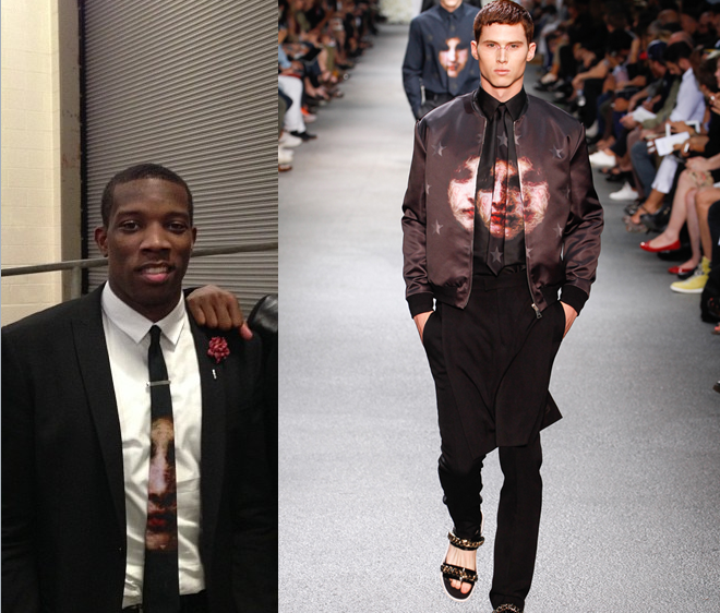 eric-bledsoe-all-star-weekend-2013-saturday-night-givenchy-spring-2013-necktie