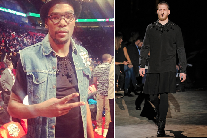 kevin-durant-all-star-weekend-2013-saturday-night-givenchy-fall-2012-shirt