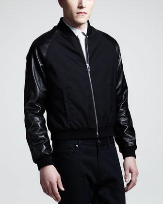 chris-paul-instagram-saint-laurent-leather-sleeve-varsity-jacket-1