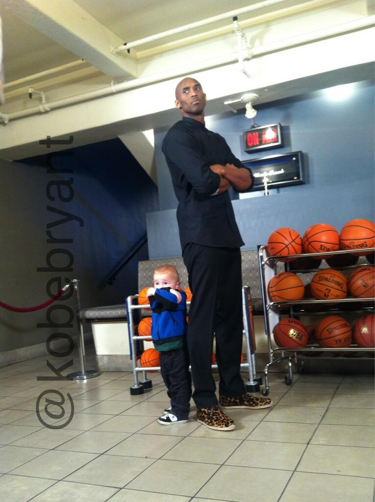 Athletes Fashion:Los Angeles Lakers Kobe Bryant Visits Jimmy ...
