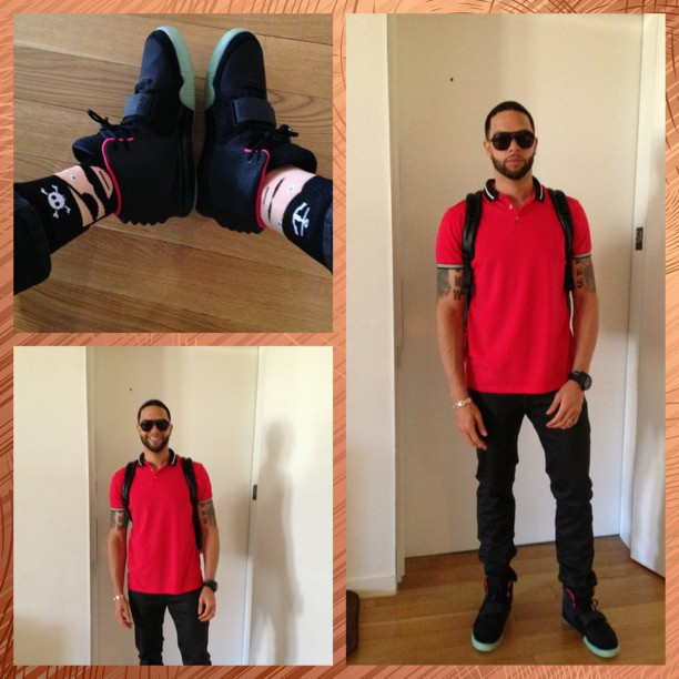 Deron-Williams-Nike-air-Yeezy2-sneakers