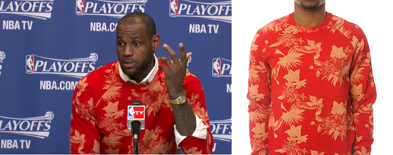 Lebron-James-2013-nba-playoffs-staples-fallon-crewneck-sweater-round-1-game-1