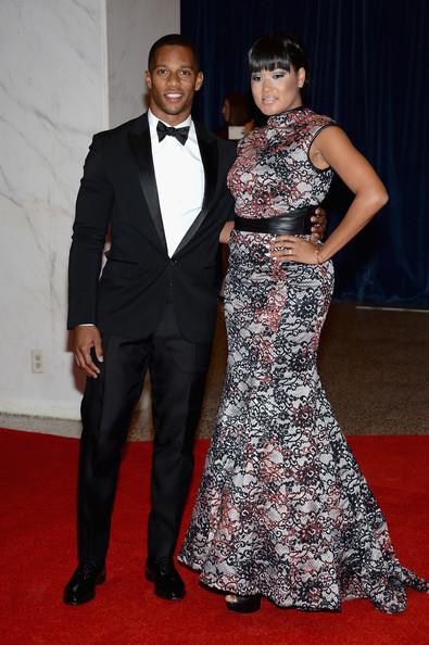Victor-Cruz-dsquared2-tuxedo-2013-White-House-Correspondents-Dinner-1