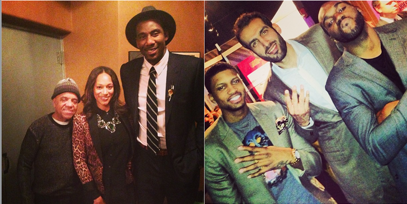 1099a732b NBA Fashion  New York Knicks Amar e Stoudemire Vs. Toronto Raptors ...