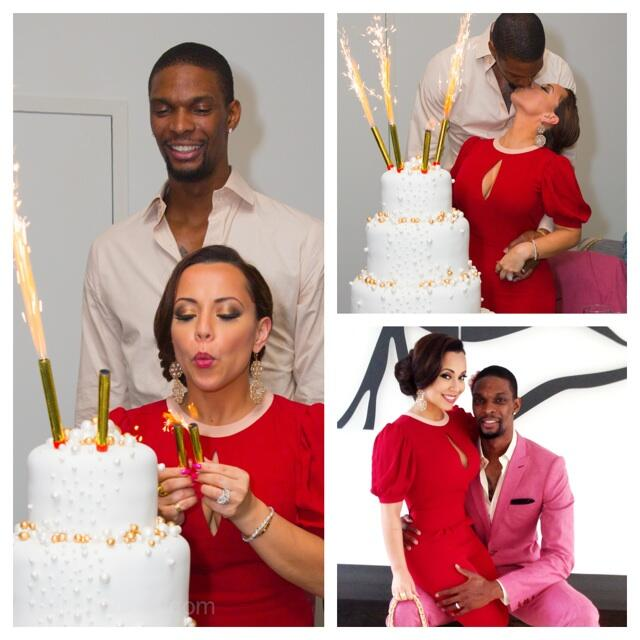 chris-bosh-pink-suit-adrienne-bosh-birthday-celebration