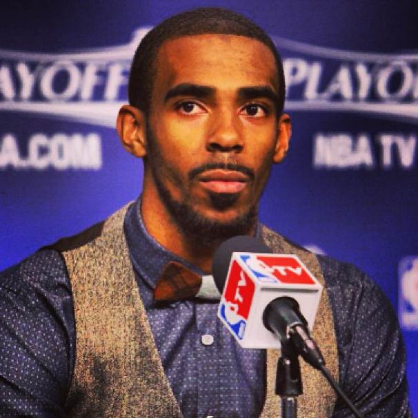 Mike-Conley-2013-nba-playoffs-wooden-bowtie-game-2-round-4