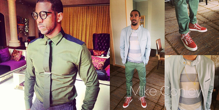 NBA Fashion  Chris Paul s Givenchy Contrast Shirt Vs. Mike Conley ... 9a982267cc44d
