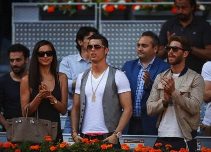 cristiano-ronaldo-wears-Chrome-Hearts-aviator-sunglasses-Mutua-Madrid-Open-tennis-1