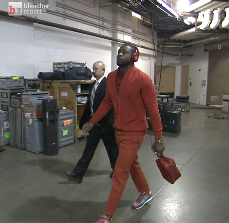 dwyane-wade-ecf-game-3-gucci-cardigan-gucci-pants-ferragamo-sneakers-red-outfit