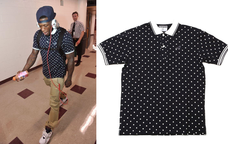 nate-robinson-nba-playoffs-2013-staple-design-navy-dougout-polo-round-1