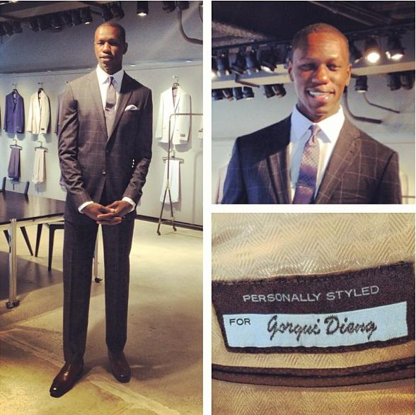 Gorgui-Dieng-2013-nba-draft-joseph-abboud-suit-fashion-style