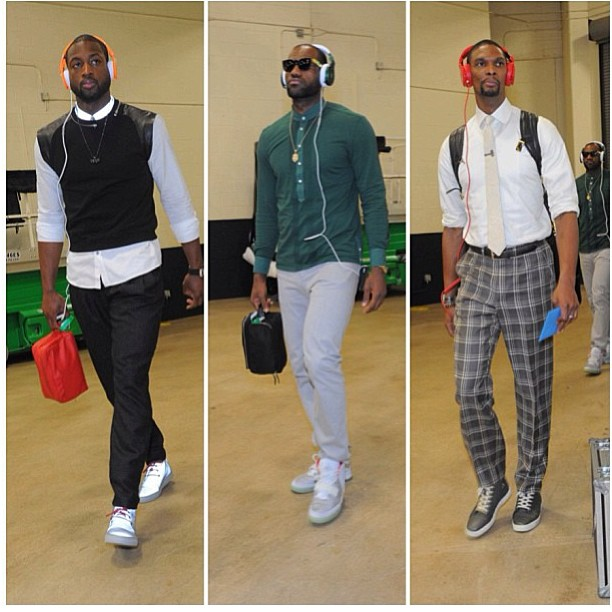 dwyane-wade-lebron-james-chris-bosh-2013-nba-finals-game-5-style-fashion-outfit