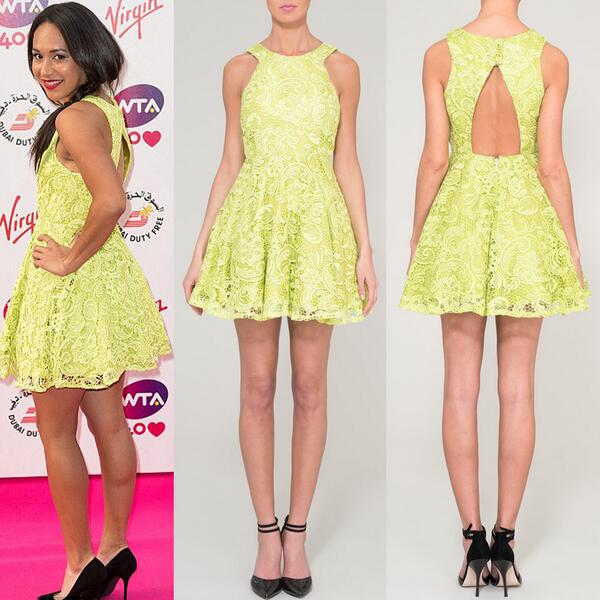 heather-watson-2013-pre-wimbledon-party-dress-fashion-style-tennis-yellow-forever-unique-dress