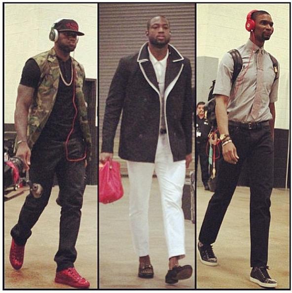 lebron-james-camouflage-jacket-dwyane-wade-chris-bosh-2013-nba-finals-game-4-style-fashion