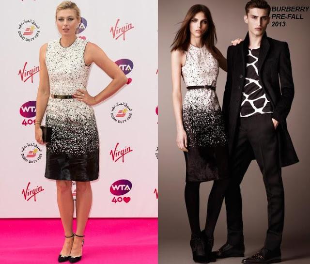 maria-sharapova-2013-pre-wimbledon-party-fashion-style-dress-tennis-burberry-prorsum-pre-fall-dress