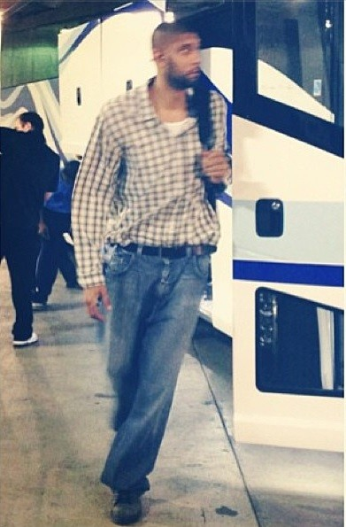 tim-duncan-arriving-at-nba-finals-2013-game-1-outfit