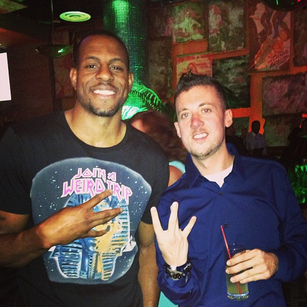competitive price ce151 79606 Style from Andre Iguodala wearing Balenciaga Fall 2013 T-shirt