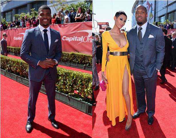 Brad-smith-terrell-suggs-2013-espys-espy-suit-fashion-style-red-carpet