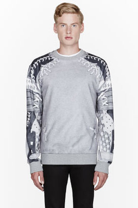 Lebron-James's-Mastros-Steakhouse-Givenchy-Grey-Football-Net-Sweatshirt-2