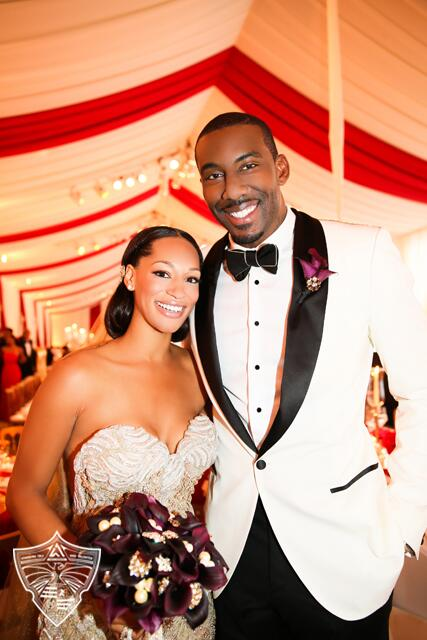 amare-stoudemire-Alexis-stoudemire-wedding-fashion-style