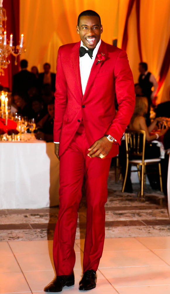 amare-stoudemire-wedding-custom-lanvin-red-suit