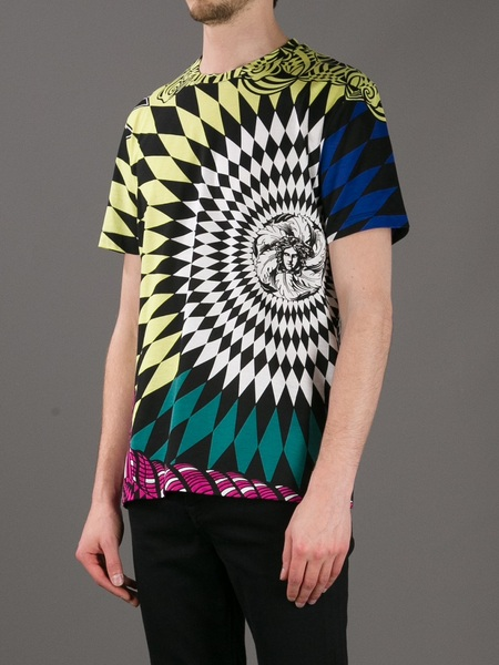 versace-argyle-medusa-print-t-shirt-yellow-blue-green-check-diamond-1