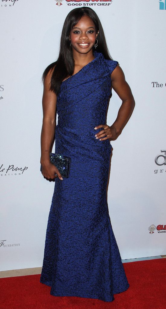 Gabrielle-Gabby-Douglas-13th+Annual-Harold-Carole-dress