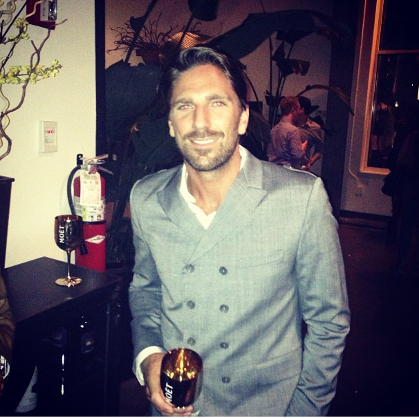 Roger Federer Henrik Lundqvist Attend Moet Chandon 270th Anniversary