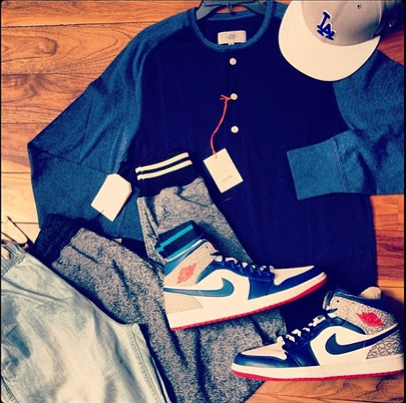 chris-paul-dodgers-game-jack-spade-shades-of-grey-jordan-1-sneakers-instagram