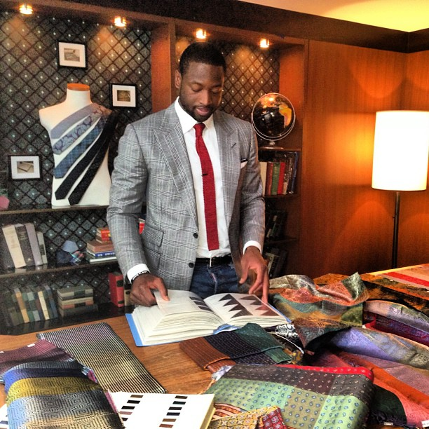 STYLE: Dwyane Wade Lauches Collection With The Tie Bar