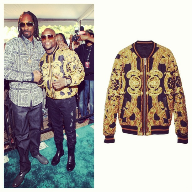 81868cf20c Style: Floyd Mayweather Jr 2013 BET Hip Hop Awards Versace 35th ...