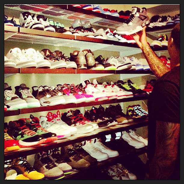 Carmelo-Anthony-Sneaker-collection-LALA-Anthony-Instagram