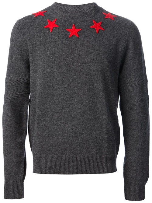 Givenchy-Stars-Wool-sweater-Embroidered-Stars