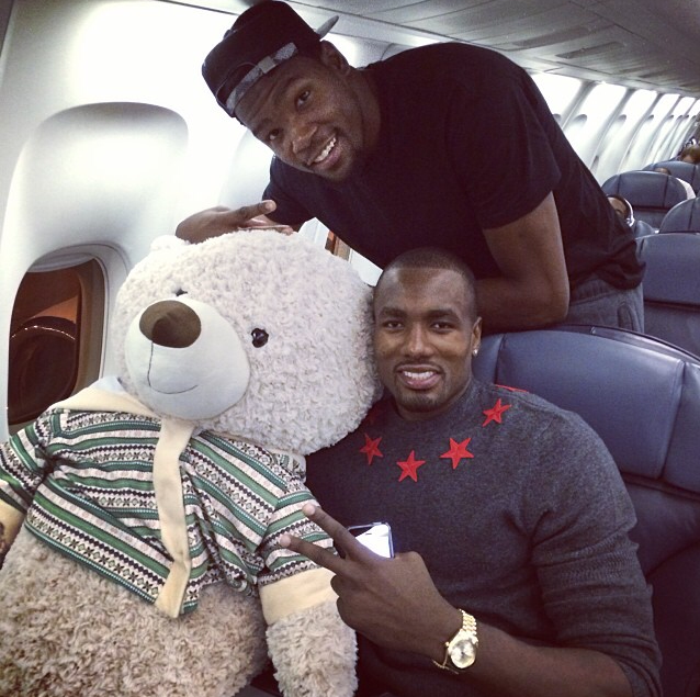 Serge-Ibaka-Instagram-Givenchy-Stars-Wool-sweater-Embroidered-Stars