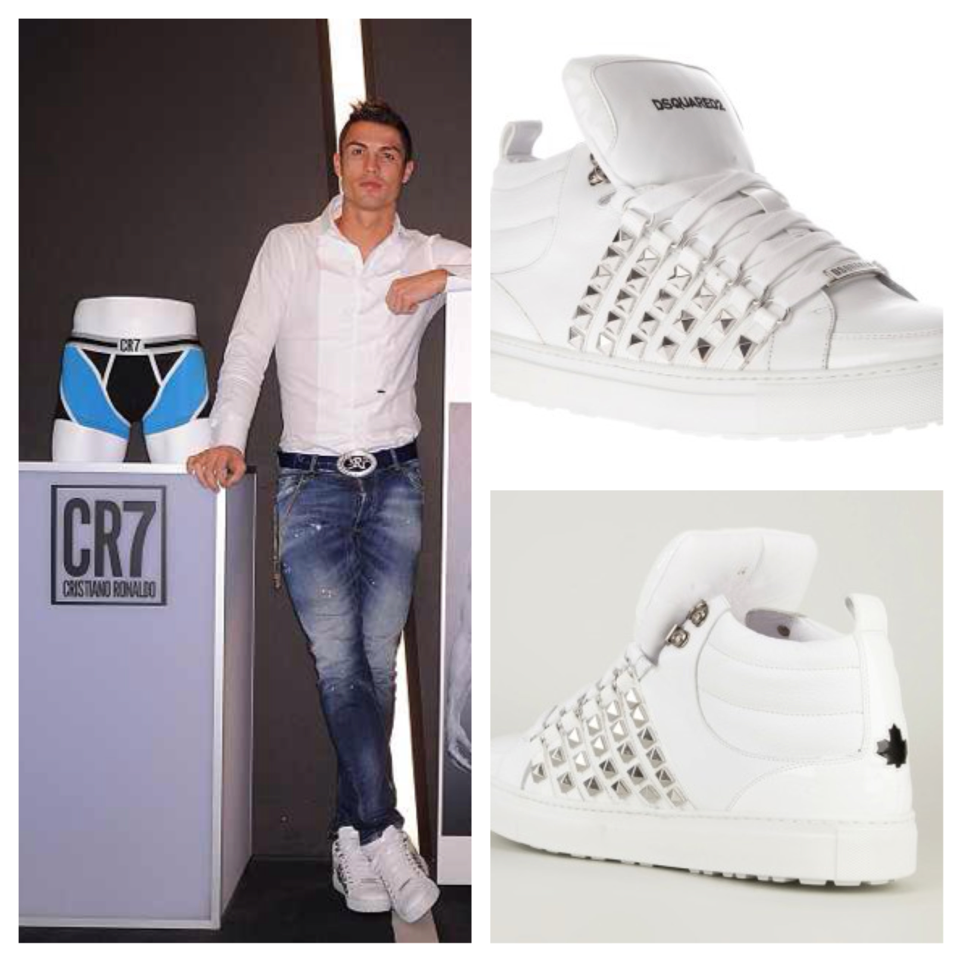 Cristiano-Ronaldo-CR7-Underwear-Launcg-Dsquared2-high-top-stud-sneakers