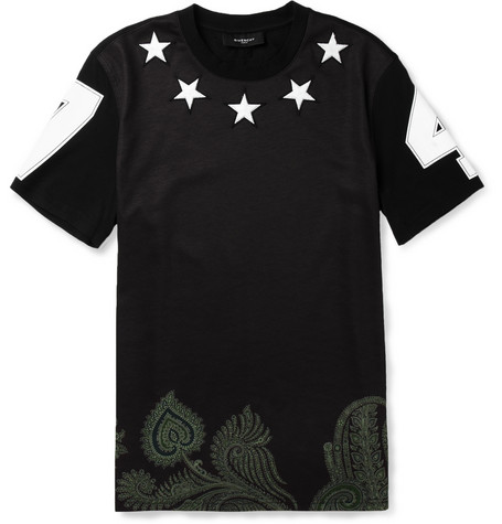 Givenchy-star-embellished-t-shirt
