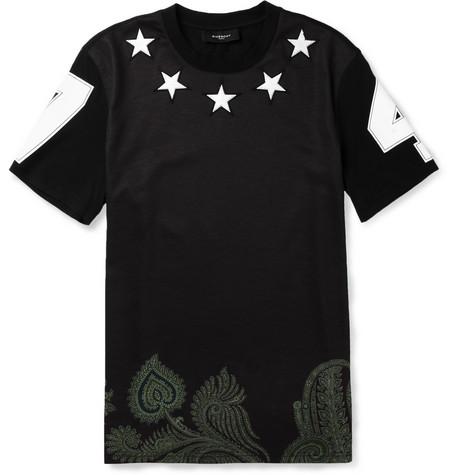 Givenchy-star-embellished-t-shirt