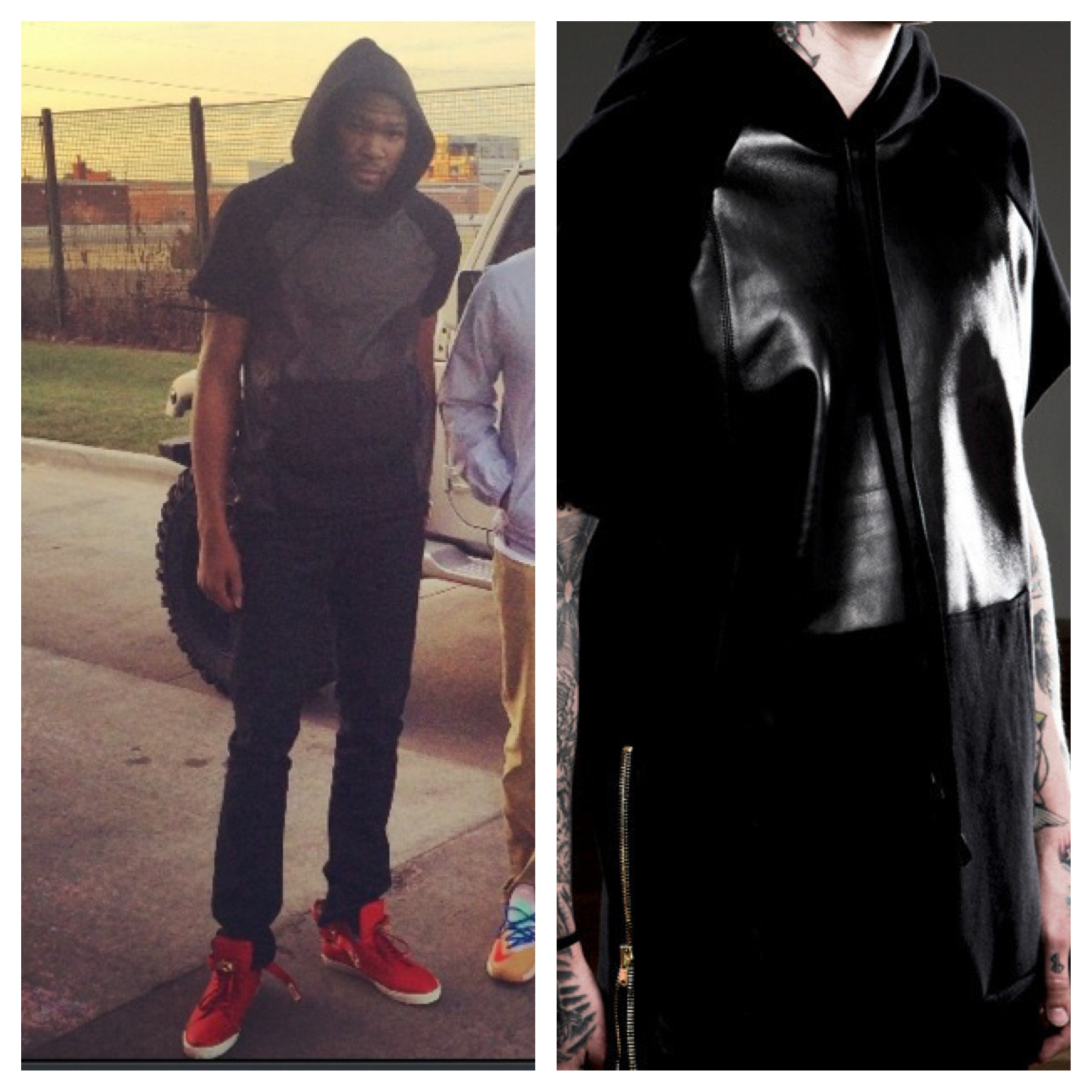 Kevin-Durant-instagram-fear-of-god-hoodie-leather-1