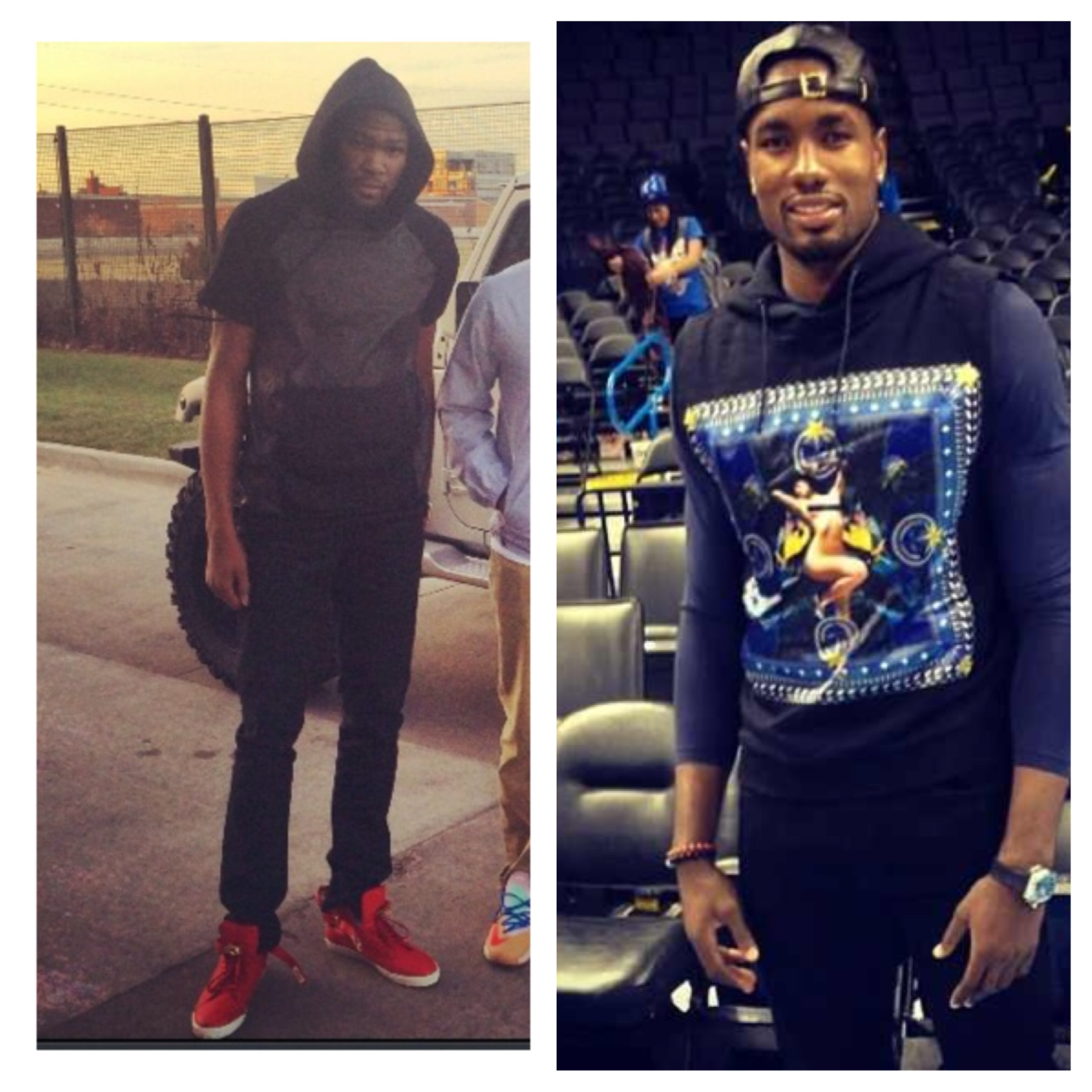 Kevin-Durant-instagram-fear-of-god-hoodie-serge-ibaka-givenchy-pin-up-girl-hoodie
