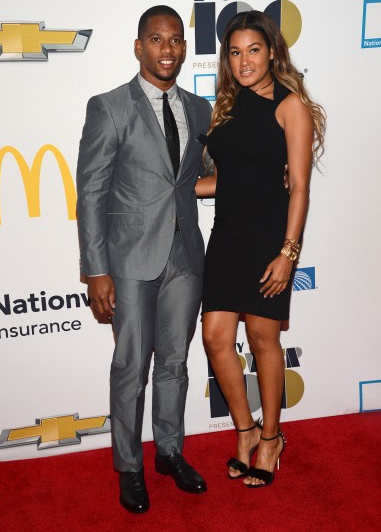 Victor-Cruz-Ebonys-2013-power-100-gala-photos