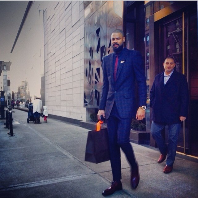 Tyson-Chandler-instagram-NBA-christmas-day-out