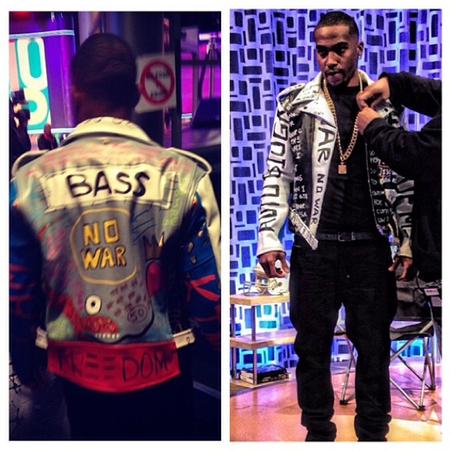 Desean-Jackson-106-&-Park-Ron-Bass-Freedom-Moto-Leather-biker-jacket