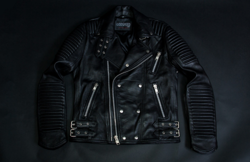 GODS-OF-MANKIND-Black-moto-jacket-biker-leather-jacket