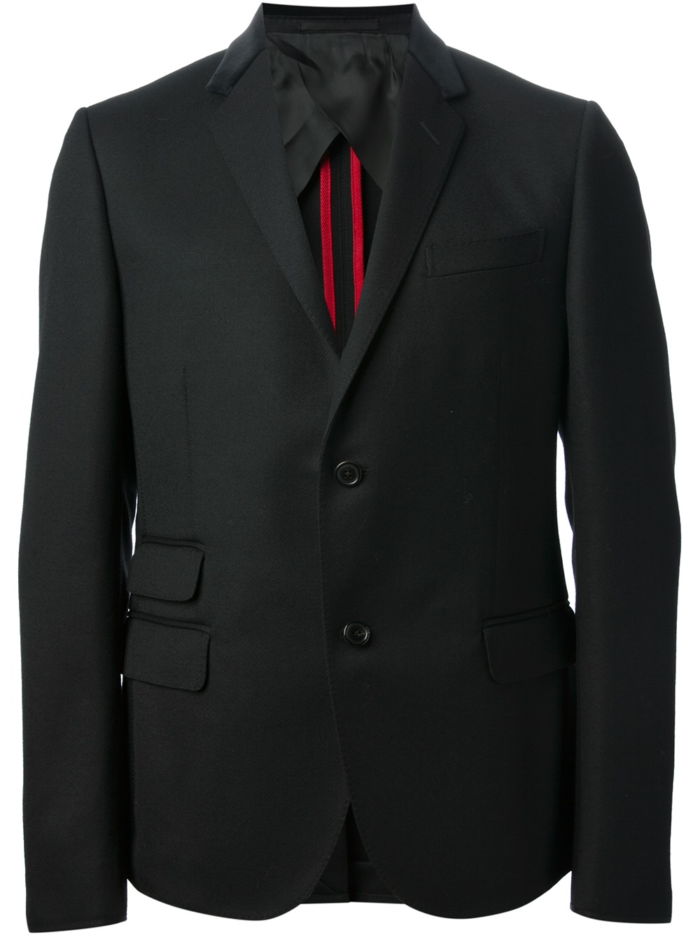 Gucci-black-two-button-blazer