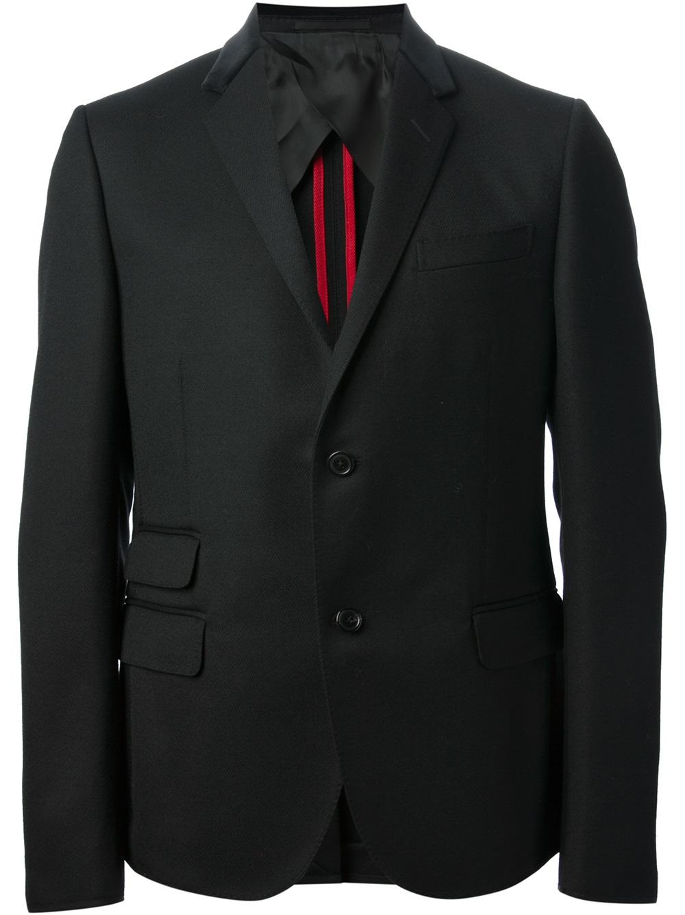 Gucci-black-two-button-blazer